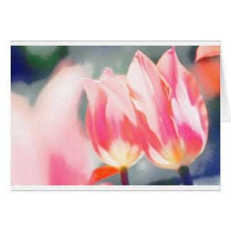 En skissa av TulipaDuo Hälsningskort