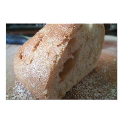 En skiva av franskt bröd foto