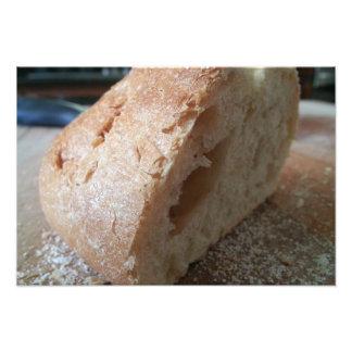 En skiva av franskt bröd fototryck