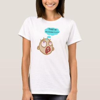 En skjorta som ska ha på sig på en hektisk dag för t shirts