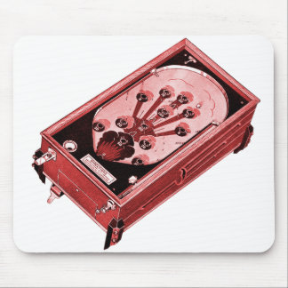 En-Skjutit vintageflipperspel Musmatta