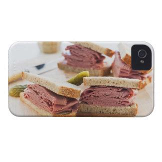 En smaklig smörgås iPhone 4 hud