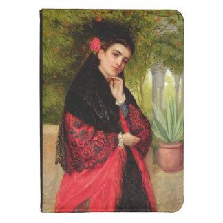 En spansk skönhet, 1872 (olja på kanfas) kindle touch skydd