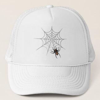 En spindel och dess webben keps
