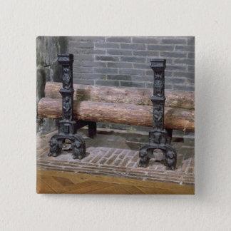 En spisgaller standard kanpp fyrkantig 5.1 cm