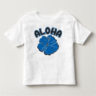 En stor blått ALOHA till dig Tröjor