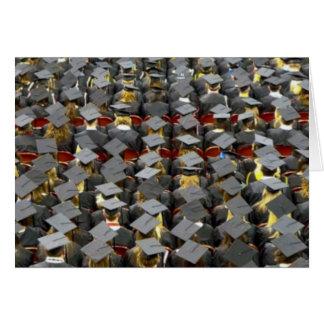 En studentenceremoni är en händelse kort