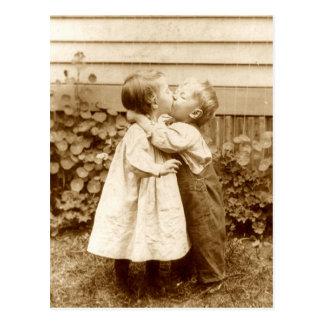 En stulen kyss vykort