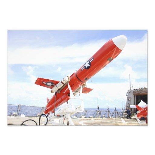 En surrredo för BQM-74E Chukar för barkass Foto