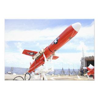 En surrredo för BQM-74E Chukar för barkass Fototryck