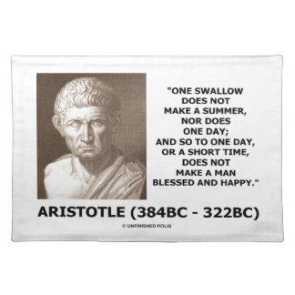 En svala gör inte en sommar Aristotle att citera Bordstablett