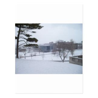 En Syracuse vinter Vykort