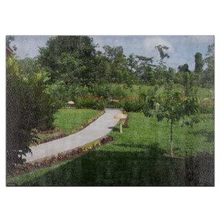 En trädgård i Costa Rica