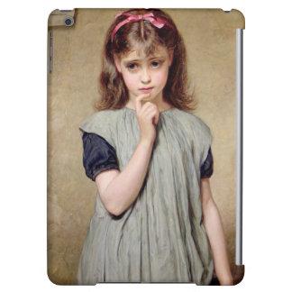 En ung flicka i klassrumet, 1876 (olja på kanfas