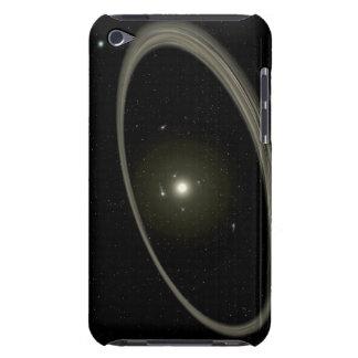 En ung stjärna som cirklas av normalformat planet barely there iPod överdrag