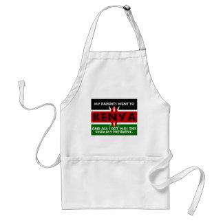 En urkass souvenir av Kenya Förkläde