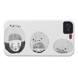 En uttråkad Panda iPhone 4 Case