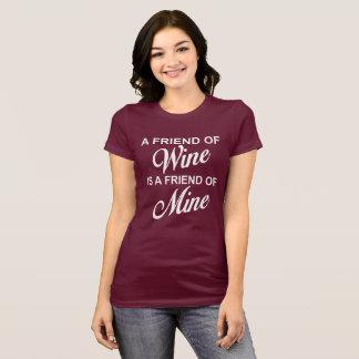 En vän av vin är en vän av den min T-Shirt.en Tröja