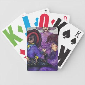En vänlig konkurrens halv liter. 2 - vid spelkort