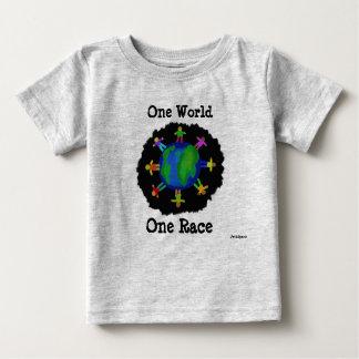 En värld, en tävlingskjorta t shirt