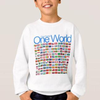 En värld t shirt