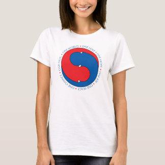 En värld t-shirts