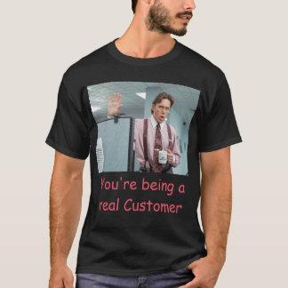 En verklig kund tröjor