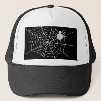 en webben, spindel truckerkeps