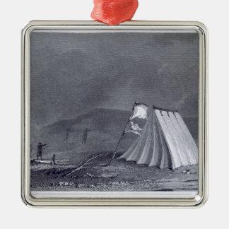 Encampment i den Browell coven, Juli 15, 1826, Julgransprydnad Metall