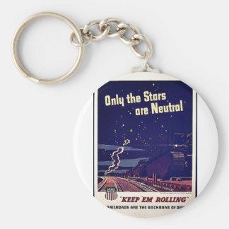Endast är stjärnorna neutrala nyckelring