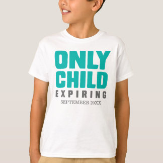Endast att förfalla för barn [som är ditt, datera tee shirt
