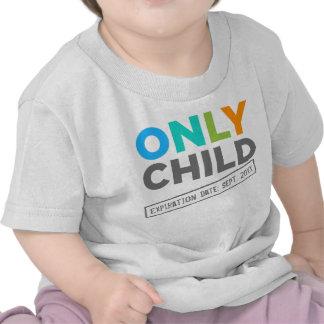 Endast daterar barnförfallodagen ditt datera tee shirts