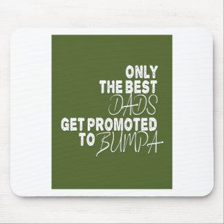 Endast får den bäst pappor främjad till BUMPA Musmatta