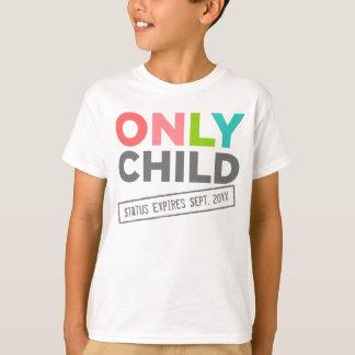 Endast förfaller barnstatus [ditt datera], t shirt