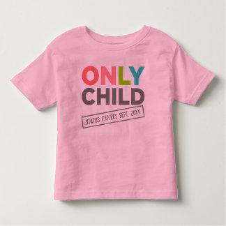 Endast förfaller barnstatus [ditt datera], tee shirts