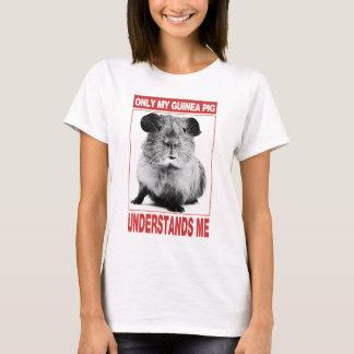 endast förstår min försökskanin mig t-shirts