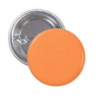 Endast orange nätt fast färgbakgrund för melon mini knapp rund 3.2 cm
