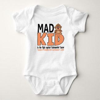 Endometrial cancer för tokig unge t-shirt