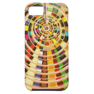 Energikupolen för UFO 3D - vinka spectrumen iPhone 5 Skal