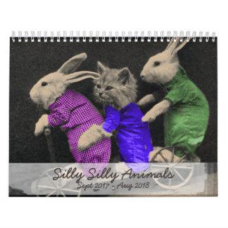 Enfaldiga enfaldiga djur - 2017 kalender