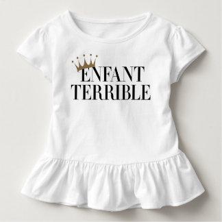 Enfant ruskig flickaklänning t-shirt