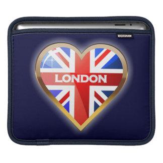 Engelsk hjärta iPad sleeve