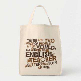 Engelsk läraregåva mat tygkasse
