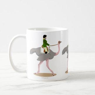 Engelsk Ostrich Kaffemugg