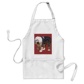 Engelsk Sheepdog Förkläde