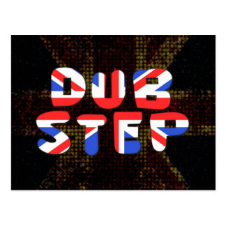 Engelska dubbar kliver vykort