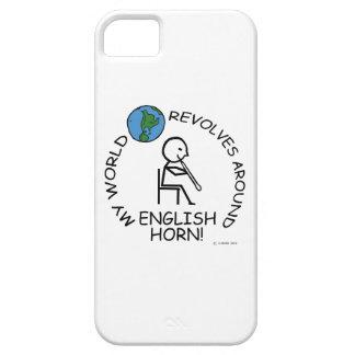 Engelskt horn - världen kretsar omkring iPhone 5 skydd