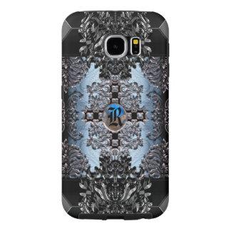 Enghel Skye barock elegansMonogram Samsung Galaxy S6 Fodral