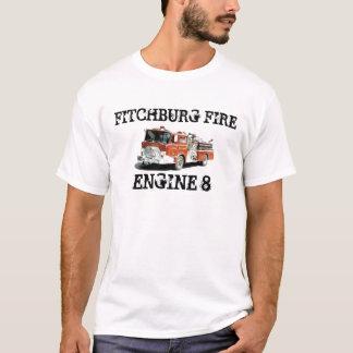 ENGINE8-8 MOTOR 8, FITCHBURG AVFYRAR TSHIRTS