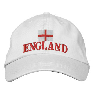 England Broderad Keps